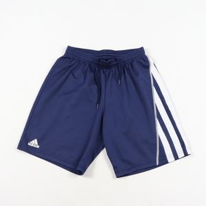 Vintage Adidas Mens Small Striped Soccer Shorts
